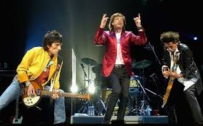 Ron Wood and the Stones