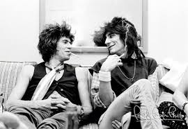 Ron Wood & keith