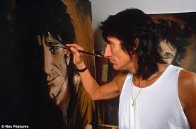 ron wood painter